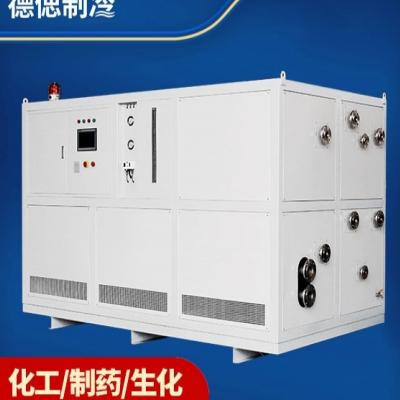 单机自复叠式低温工业用冷冻机