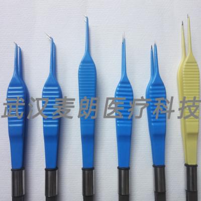 【电凝镊】眼科整形专用短直状精细电凝镊生产厂家麦朗医疗