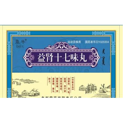 益肾十七味丸(医保)