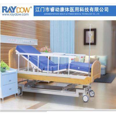 三功能电动护理床实木家庭康复床医院病床YE3003AD款