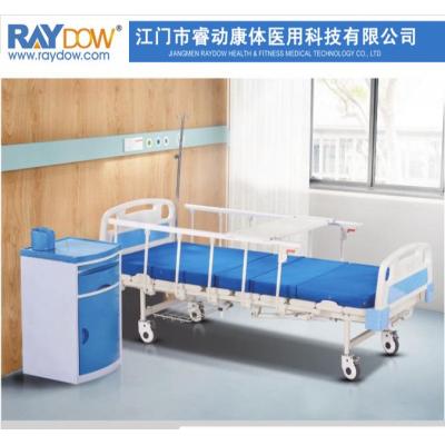 睿动双摇手动病床医院老人护理床YH8002A款