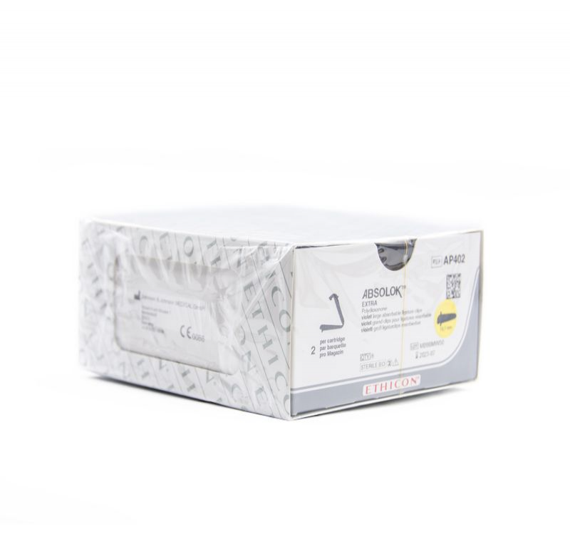 美国强生爱惜康ETHICON结扎钉夹AP402可吸收生物夹