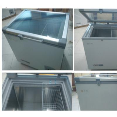 永佳-40度卧式冰箱100升(玻璃门),实验冰柜