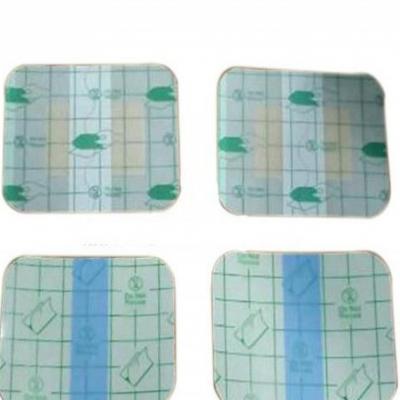 医用防水膏药布(PU膜膏药防水胶带)